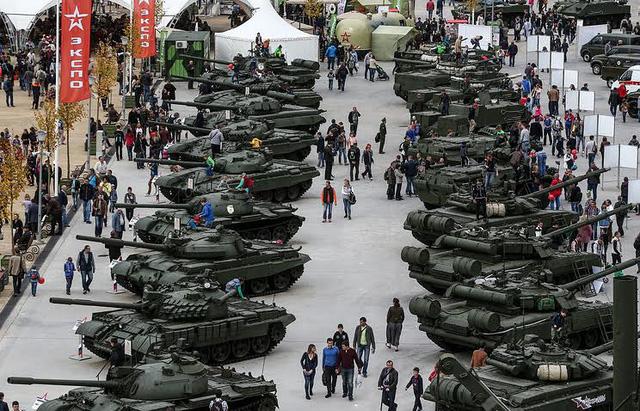 Ảnh minh họa: Chợ vũ khí. Nguồn ảnh: Internet