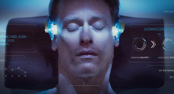 Hình ảnh mô phỏng khái niệm tải trí não lên máy tính. Ảnh: MIDNIGHT SNACK PRODUCTIONS