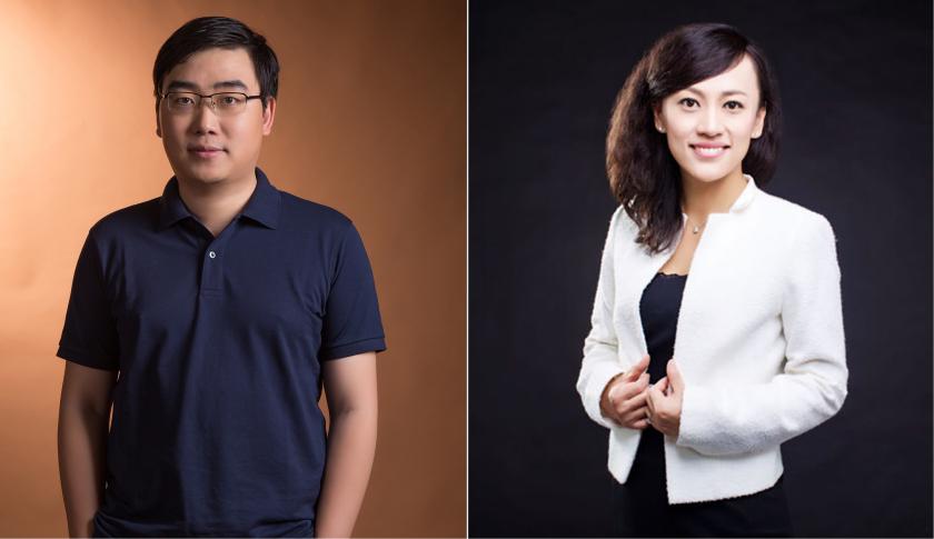 Jean Liu và Cheng Wei hai nhân vật chủ chốt đứng sau ứng dụng đi chung xe Didi Chuxing. Nguồn ảnh: Internet.