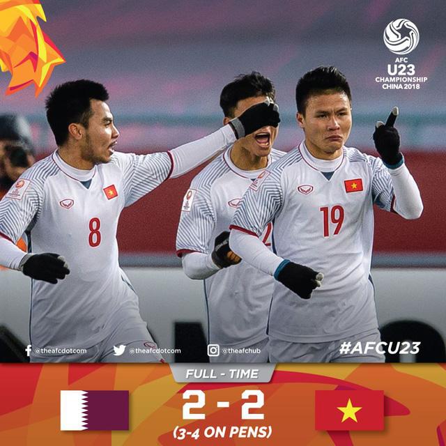 U23 Việt Nam làm nên lịch sử ở giải U23 châu Á