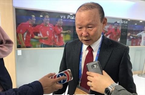 HLV Park Hang Seo thừa nhận U19 Việt Nam còn yếu về thể lực