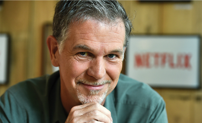 CEO Netflix Reed Hastings. Ảnh: Newscom.