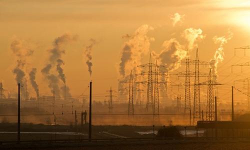 Không khí đang ô nhiễm nặng ở nhiều khu vực. Ảnh: Pixabay.