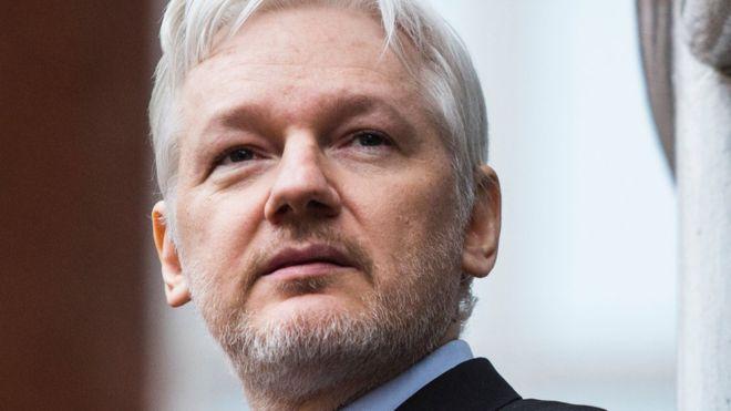 Nhà sáng lập WikiLeaks, ông Julian Assange cư trú tại Đại sứ quán Ecuador tại London. Ảnh: Internet