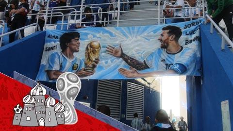 Khi người Argentina chỉ biết mình Messi