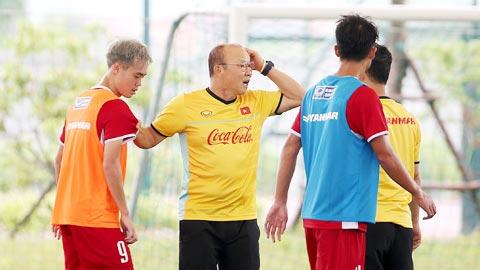 HLV Park Hang Seo: 'Olympic Việt Nam phải cố giải quyết 2 trận đầu'