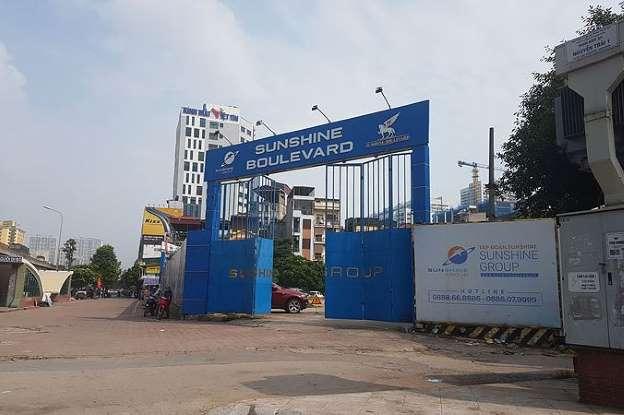 Tiền Phong. Khu đất Ao Cây Dừa (HTX Dịch vụ Hạ Ðình quản lý) đang bắt đầu triển khai xây dựng.