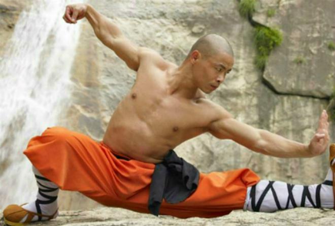 Hòa thượng Thiếu Lâm Tự. Nguồn ảnh: Internet.