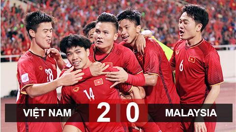 Thắng thuyết phục Malaysia, Việt Nam rộng đường vào bán kết